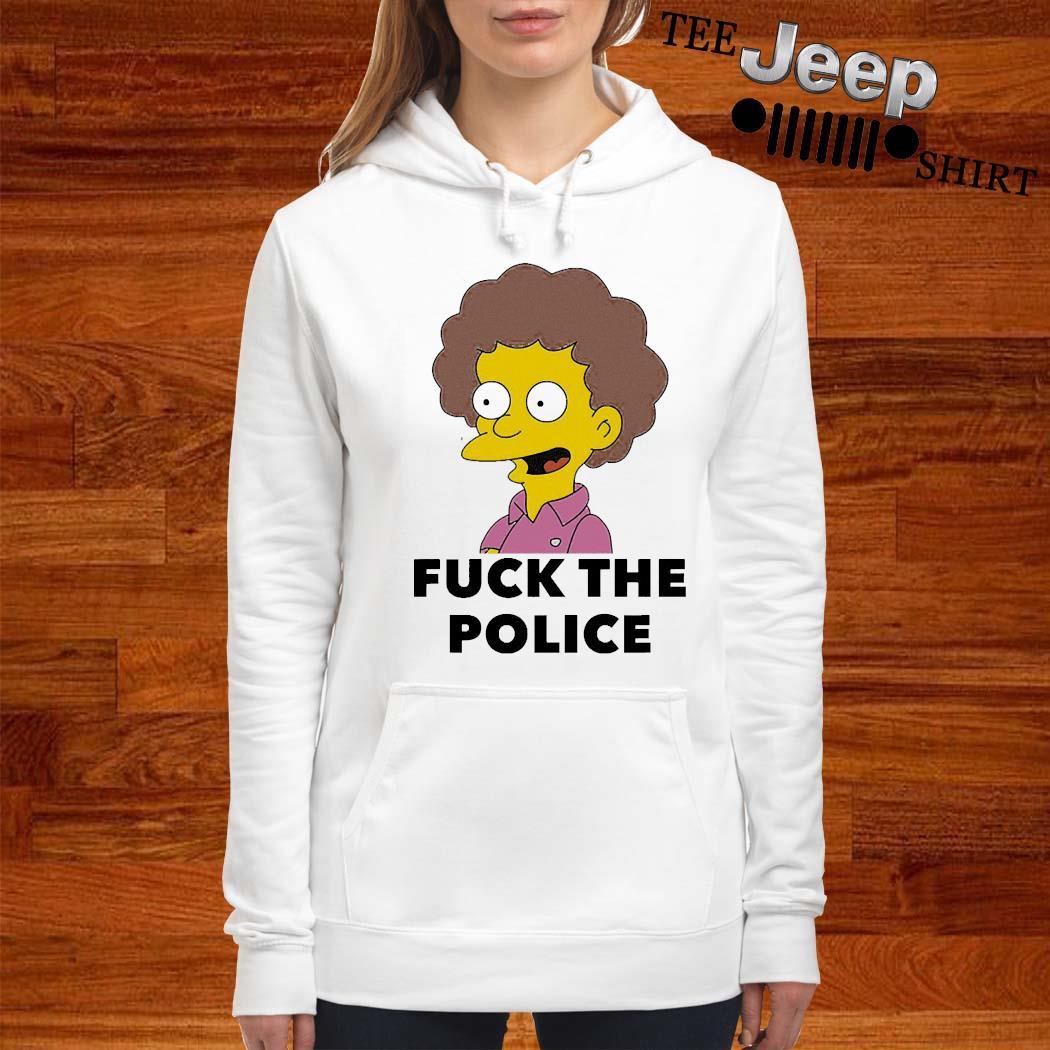 Todd Flanders Fuck The Police Shirt women-hoodie