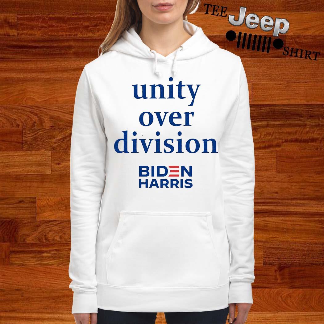 Unity Over Division Biden For President Shirt women-hoodie