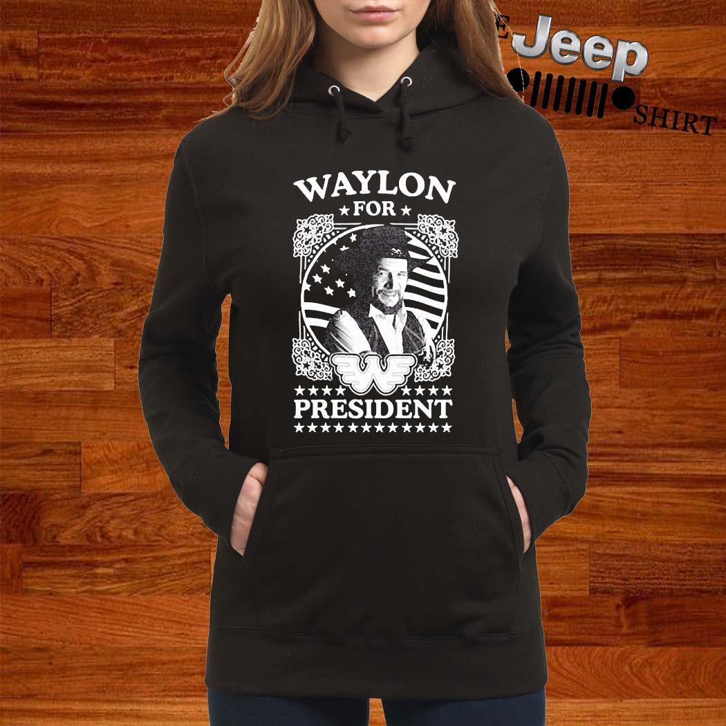 Waylon For President Us Flag Shirt women-hoodie