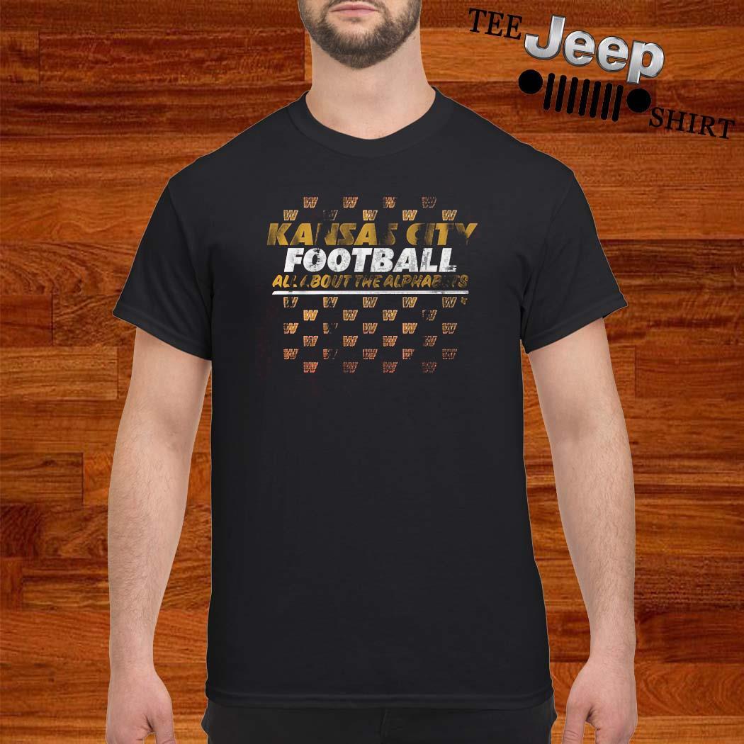 KC Alphabet Kansas City Football Shirt