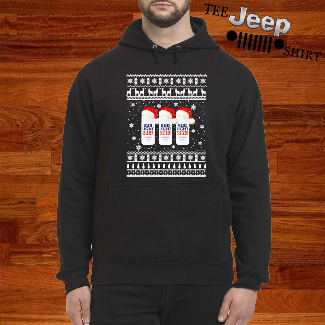 Bud Light Seltzer Ugly Christmas Sweater hoodie