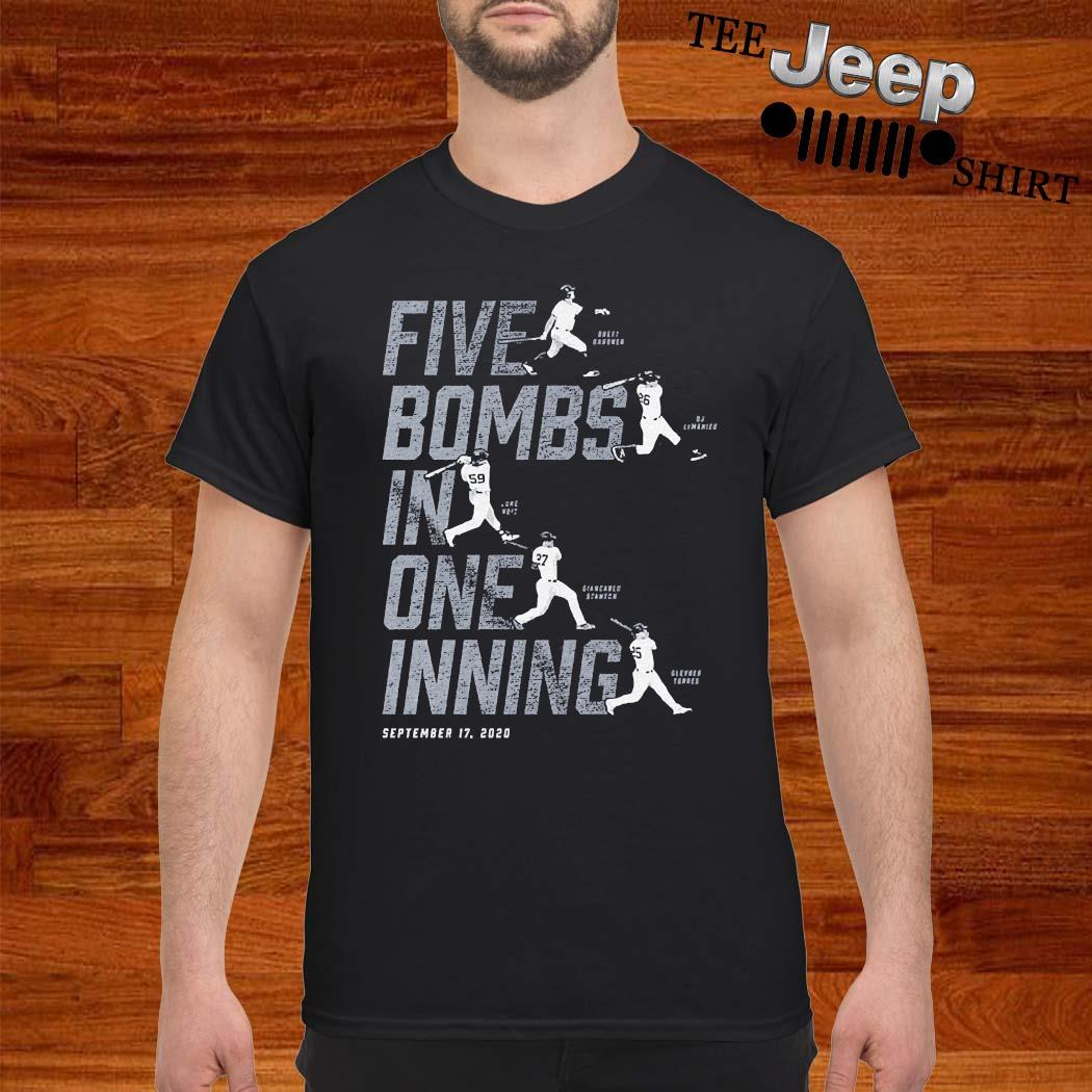 Five Bombs In One Inning Shirt