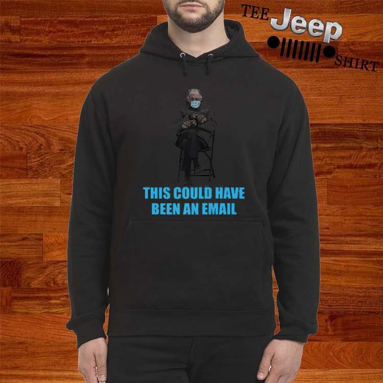 Bernie Sanders Mittens Sitting Inaugruation Meme Shirt hoodie