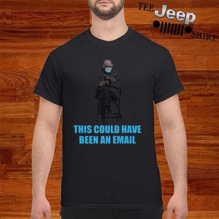 Bernie Sanders Mittens Sitting Inaugruation Meme Shirt