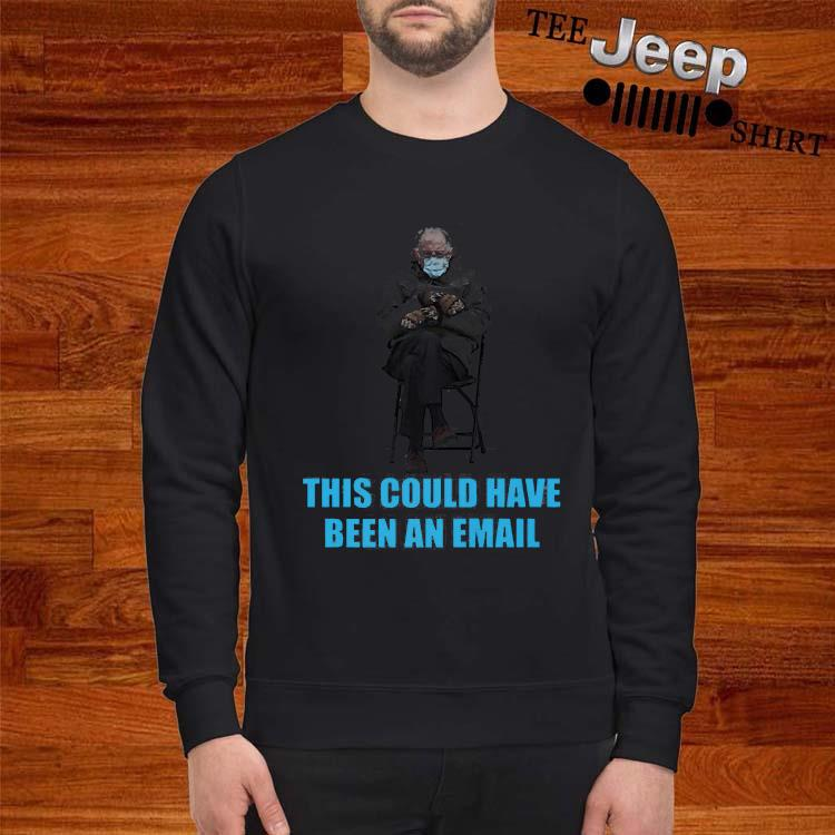 Bernie Sanders Mittens Sitting Inaugruation Meme Shirt sweatshirt
