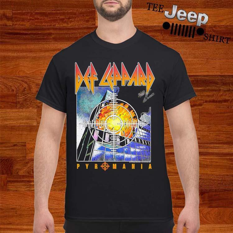 Def Leppard Pyromania Shirt